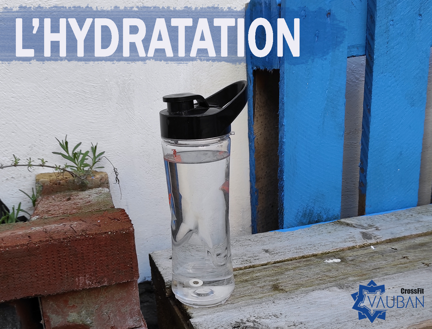 hydratation Lille CrossFit Vauban